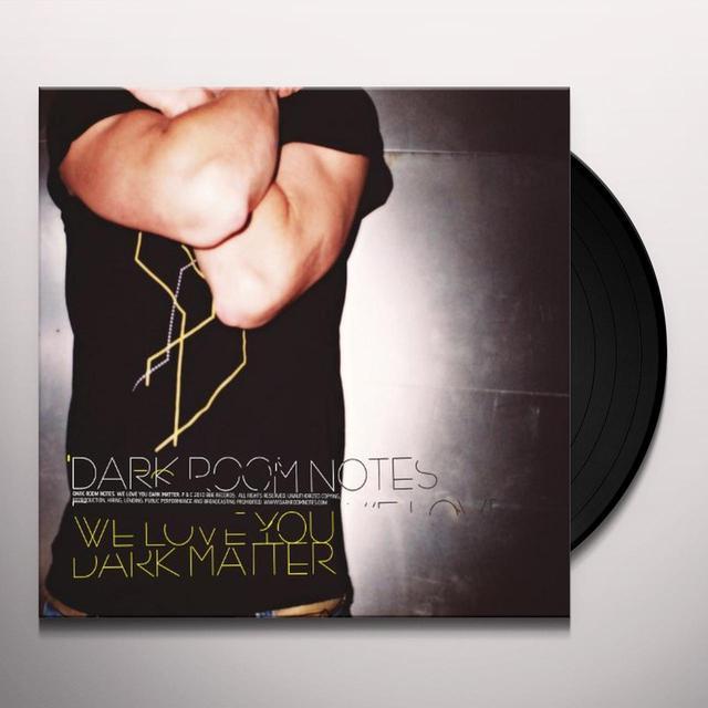 Dark Room Notes WE LOVE YOU DARK MATTER Vinyl Record