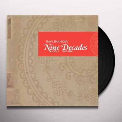 Ravi Shankar NINE DECADES 1 Vinyl Record