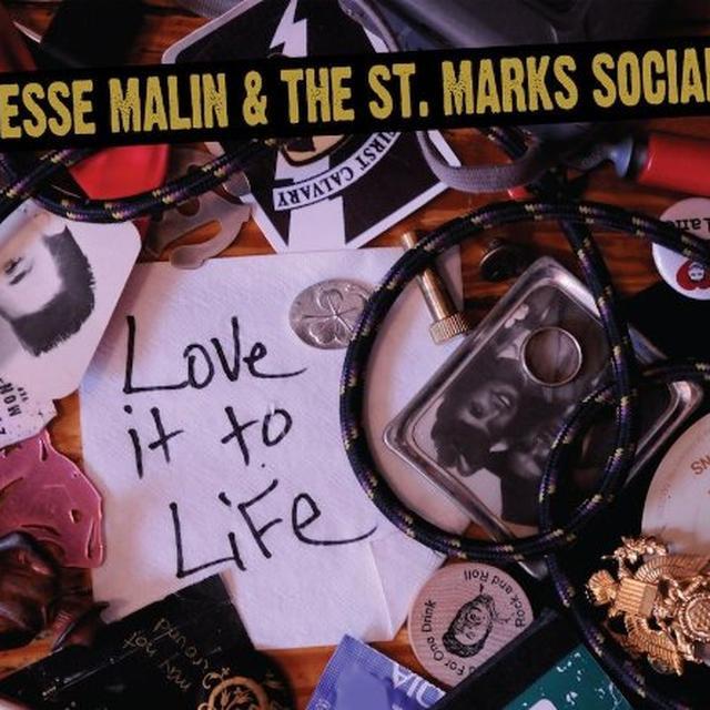 Jesse Malin & St Marks Social LOVE IT TO LIFE Vinyl Record