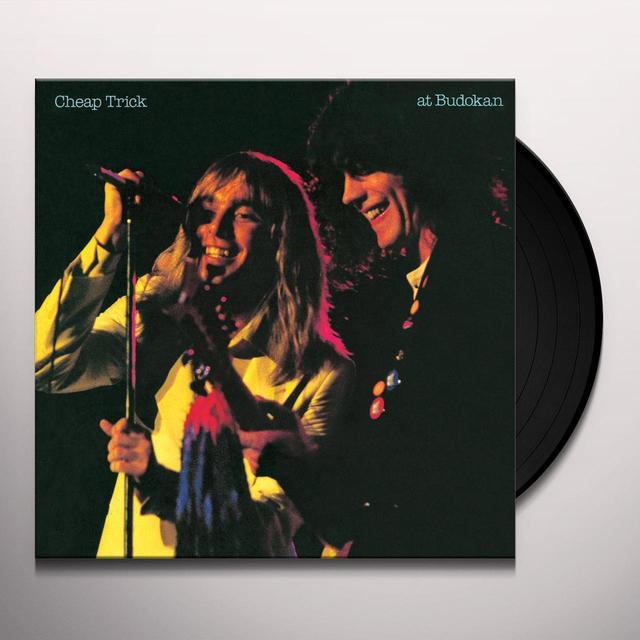 Cheap Trick AT BUDOKAN Vinyl Record - Limited Edition, 180 Gram Pressing