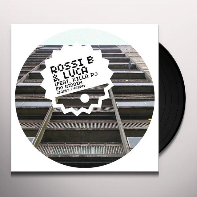Ross B & Luca E10 RIDDIM Vinyl Record