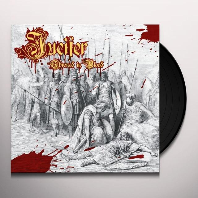 Jucifer THRONED IN BLOOD Vinyl Record