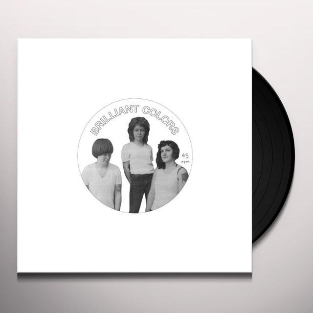 Brilliant Colors NEVER MINE Vinyl Record