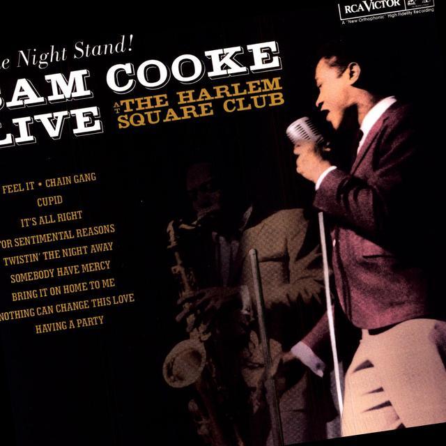 Sam Cooke LIVE AT THE HARLEM SQUARE CLUB Vinyl Record - 180 Gram Pressing