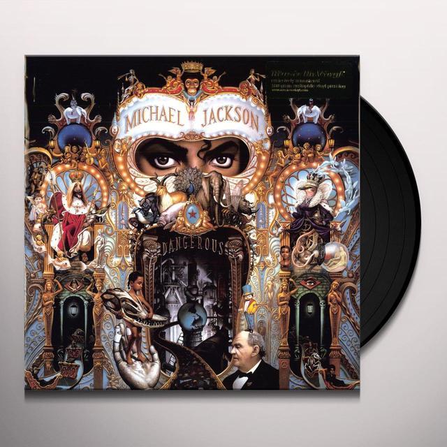 Michael Jackson DANGEROUS Vinyl Record