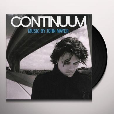 John Mayer CONTINUUM (BONUS TRACK) Vinyl Record - 180 Gram Pressing