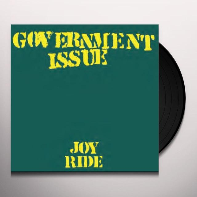 Government Issue JOYRIDE Vinyl Record