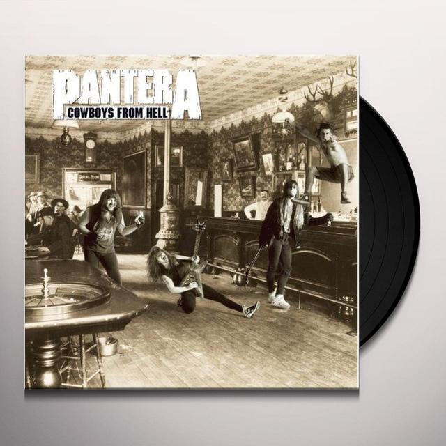 Pantera COWBOYS FROM HELL Vinyl Record - 180 Gram Pressing