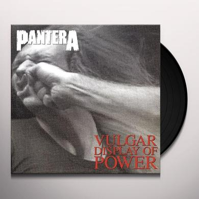 Pantera VULGAR DISPLAY OF POWER Vinyl Record - 180 Gram Pressing