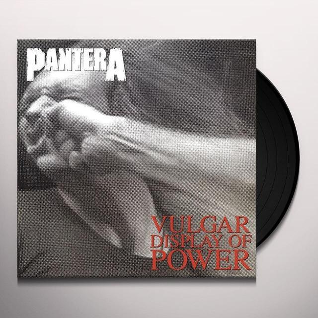 Pantera VULGAR DISPLAY OF POWER Vinyl Record - 180 Gram Pressing