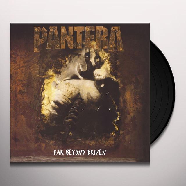 Pantera FAR BEYOND DRIVEN Vinyl Record - 180 Gram Pressing