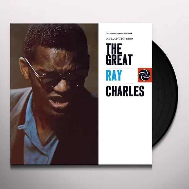 GREAT RAY CHARLES Vinyl Record - 180 Gram Pressing