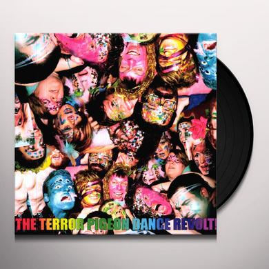 Terror Pigeon Dance Revolt I LOVE YOU I LOVE YOU & I'M IN LOVE WITH YOU HAVE Vinyl Record