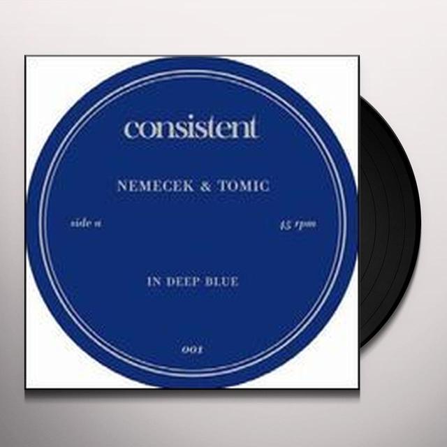Nemecek & Tomic IN DEEP BLUE (EP) Vinyl Record