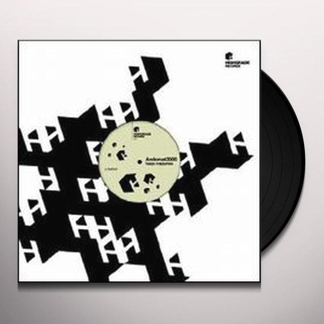 Andomat 3000 HAPPY CRAPPYNESS (EP) Vinyl Record