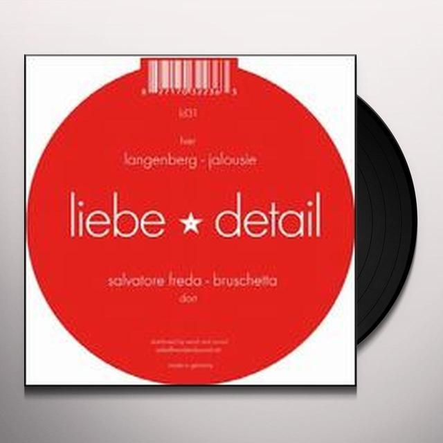 Salvatore / Langenberg Freda BRUSCHETTA / JALOUSIE (EP) Vinyl Record