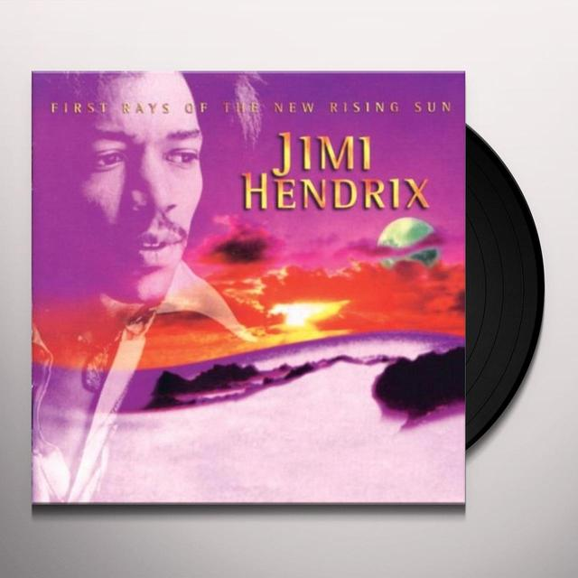 Jimi Hendrix FIRST RAYS OF THE NEW RISING SUN Vinyl Record - 180 Gram Pressing, Deluxe Edition