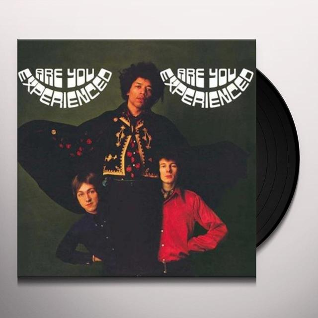 Jimi Hendrix ARE YOU EXPERIENCED Vinyl Record - Deluxe Edition, 180 Gram Pressing
