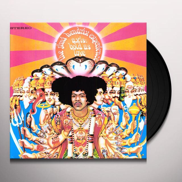 Jimi Hendrix AXIS: BOLD AS LOVE Vinyl Record - 180 Gram Pressing, Deluxe Edition