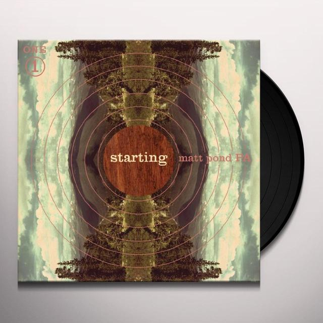 Matt Pond Pa STARTING Vinyl Record