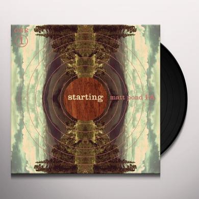 Matt Pond Pa STARTING Vinyl Record - Digital Download Included