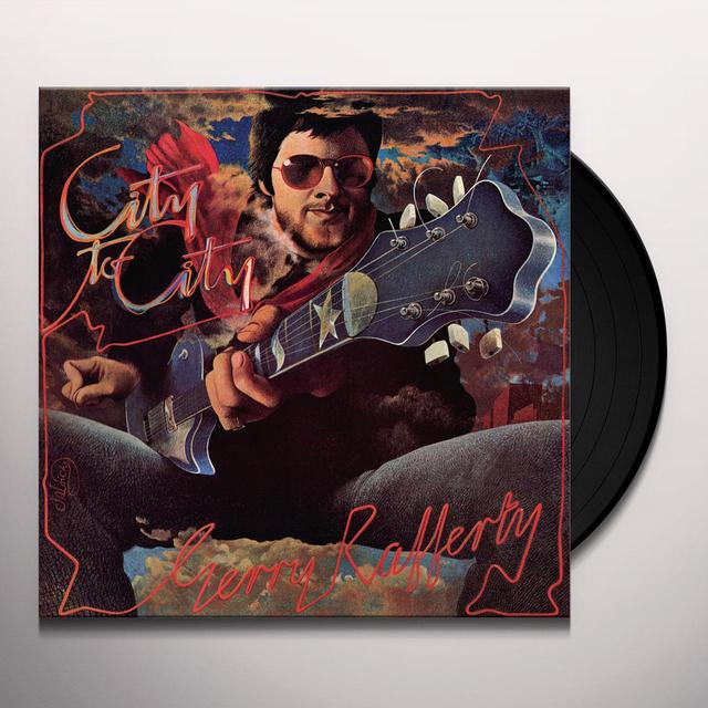 Gerry Rafferty CITY TO CITY Vinyl Record - Limited Edition, 180 Gram Pressing