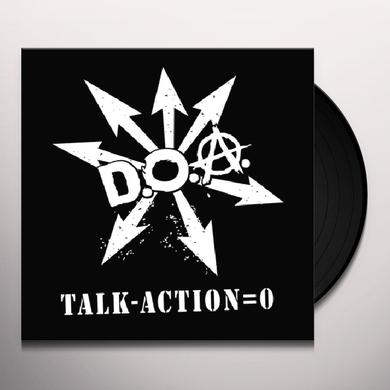 Doa TALK MINUS ACTION = ZERO Vinyl Record