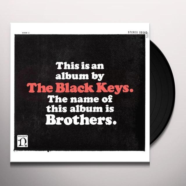 Black Keys BROTHERS (BONUS CD) Vinyl Record