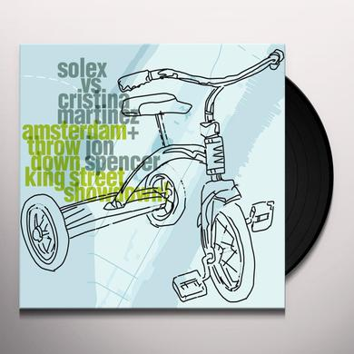 Solex / Cristina Martinez / Jon Spencer AMSTERDAM THROWDOWN KING STREET SHOWDOWN Vinyl Record