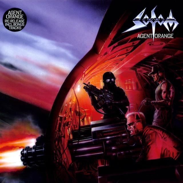 Sodom AGENT ORANGE Vinyl Record - Reissue