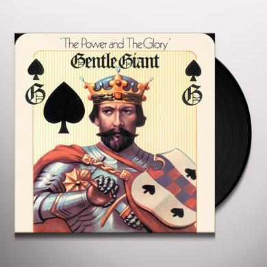 Gentle Giant POWER & THE GLORY Vinyl Record