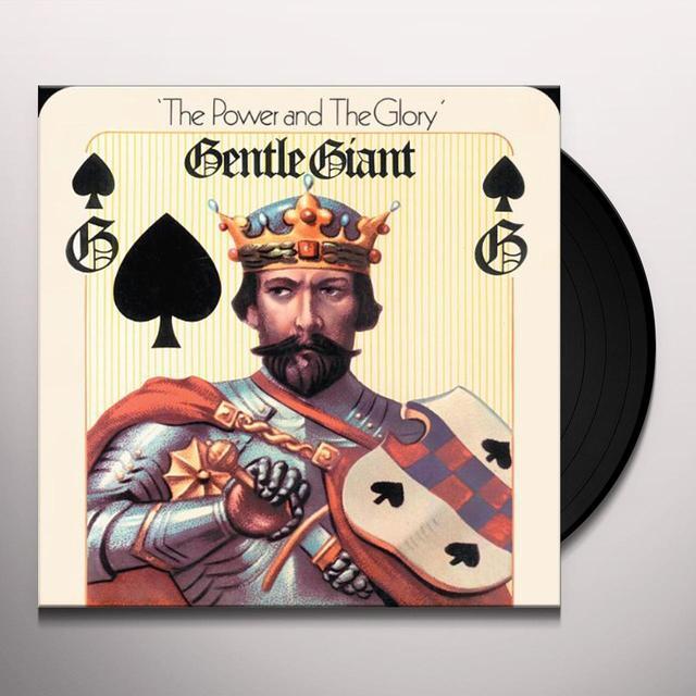 Gentle Giant POWER & THE GLORY Vinyl Record