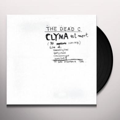 The Dead C CLYMA EST MORT & TENTATIVE POWER Vinyl Record