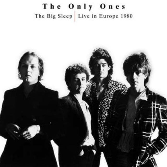 The Only Ones BIG SLEEP: LIVE IN EUROPE 1980 Vinyl Record