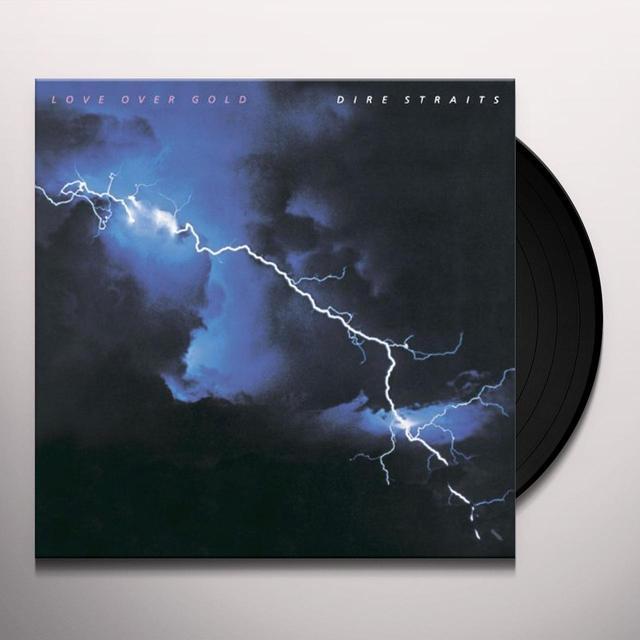 Dire Straits LOVE OVER GOLD Vinyl Record - 180 Gram Pressing
