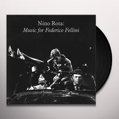 Nino (Ltd) Rota MUSIC FOR FEDERICO FELLINI / O.S.T. Vinyl Record - Limited Edition