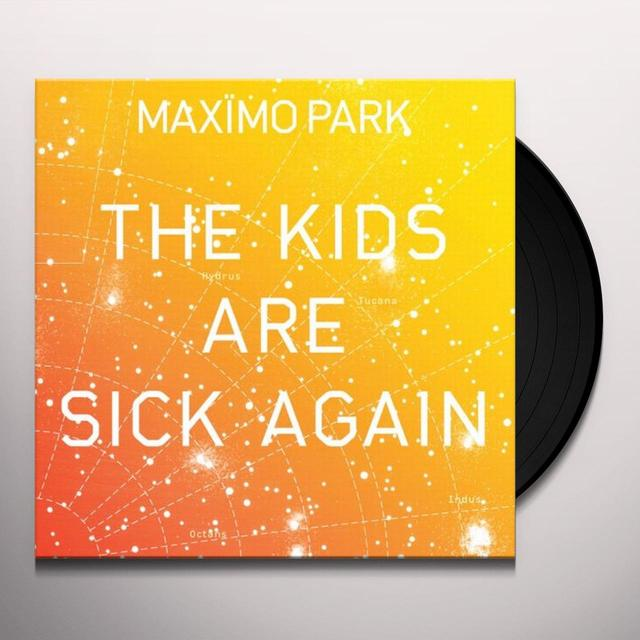 Maximo Park KIDS ARE SICK AGAIN (YELLOW) Vinyl Record