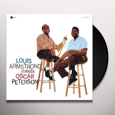 Louis Armstrong MEETS OSCAR PETERSON Vinyl Record