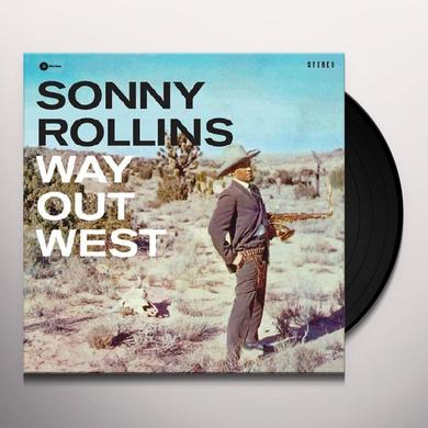 Sonny Rollins WAY OUT WEST Vinyl Record