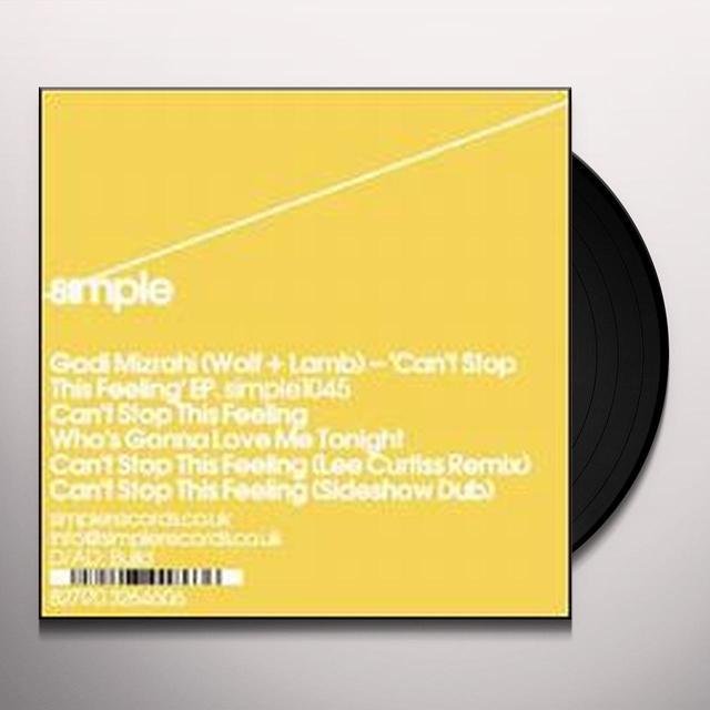 Gadi Mizrahi CAN'T STOP THIS FEELING (EP) Vinyl Record