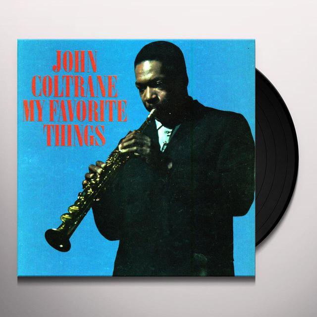John Coltrane MY FAVORITE THINGS Vinyl Record