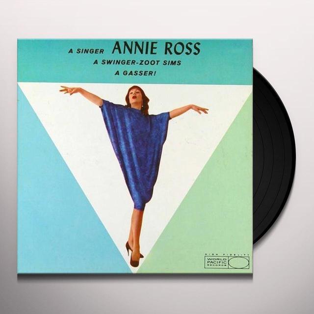 Annie Ross & Zoot Sims GASSER Vinyl Record