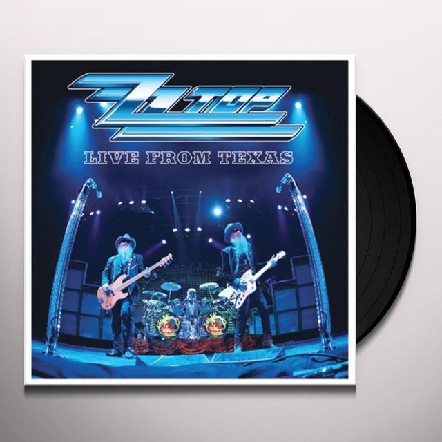 ZZ Top LIVE FROM TEXAS (BONUS TRACK) Vinyl Record - 180 Gram Pressing