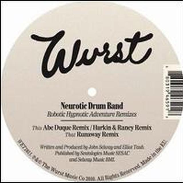 Neurotic Drum Band ROBOTIC HYPNOTIC ADVENTURE REMIXES (EP) Vinyl Record
