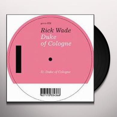 Rick Wade DUKE OF COLOGNE Vinyl Record