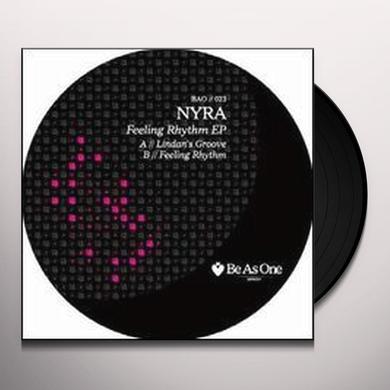 Nyra FEELING RHYTHM (EP) Vinyl Record