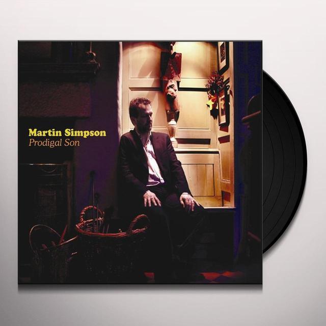 Martin Simpson PRODIGAL SON Vinyl Record - Limited Edition, 180 Gram Pressing