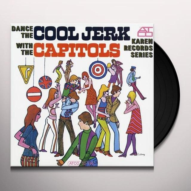 Capitols DANCE THE COOL JERK Vinyl Record