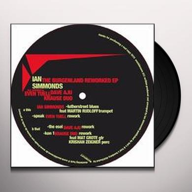 Ian Simmonds BURGENLAND DUBS REWORKED (EP) Vinyl Record