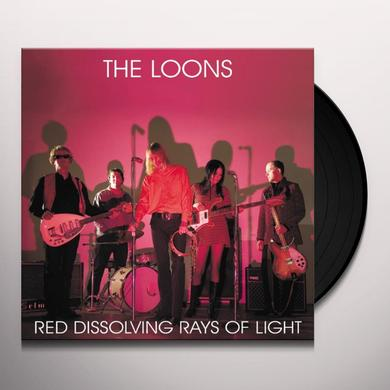 Loons RED DISSOLVING RAYS OF LIGHT Vinyl Record